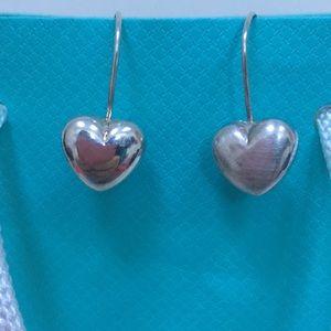 Jewelry - 🔴Sterling Silver Heart Earrings ❤️🔴